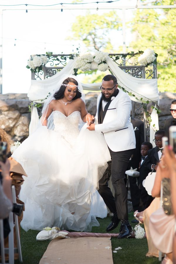 """""""Kristyn and Branson tied the knot onApril 8 in front of over 200 family and friends."""" --<i>Ashleigh Bing</"""