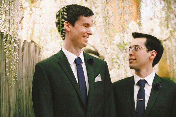 """Chris andRichard married inAlexandria, Virginia."" --<i>Leah Moyers</i>"