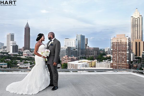 """Congratulations to Lauren and Chigbo Ndubisi on their gorgeous wedding at Ventanas above the city!"" -- <i>Loyall Hart</"