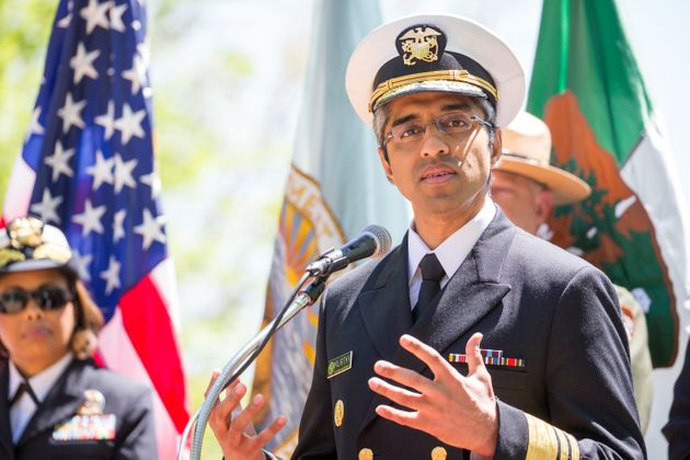 U.S. Surgeon General Vivek Murthy was asked to resign, the Department of Health and Human Services