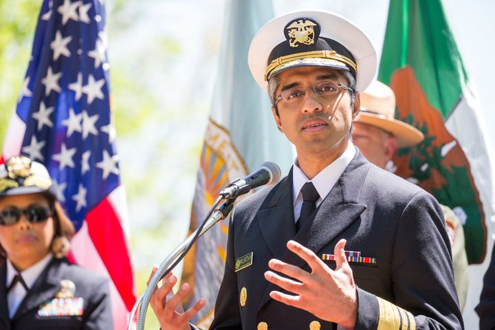 U.S. Surgeon General Vivek Murthy was asked to resign, the Department of Health and Human Services said.
