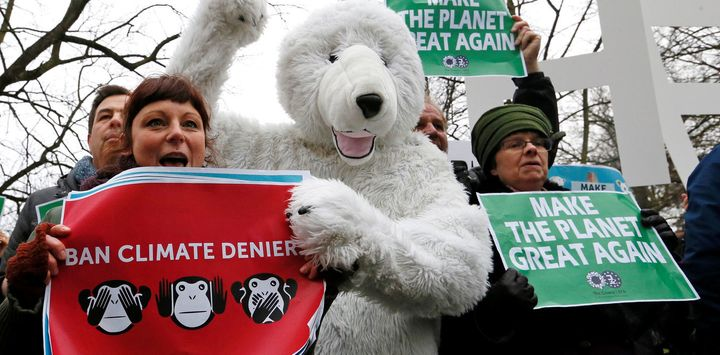 In Europe, scientists will be marching on Earth Day largely as a sign of support for their silenced American colleagues.