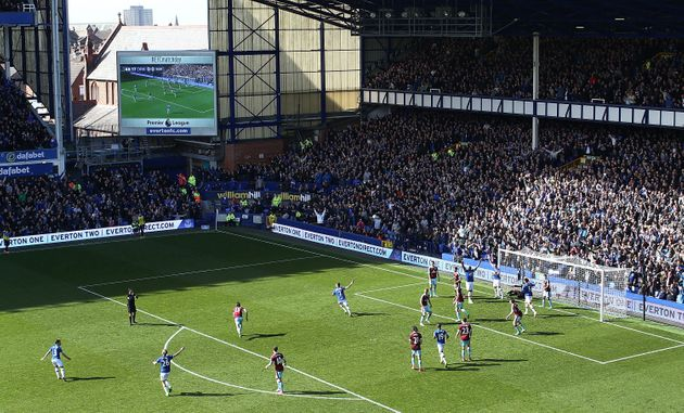 Everton bannedSun reporters from their Goodison Park stadium and training