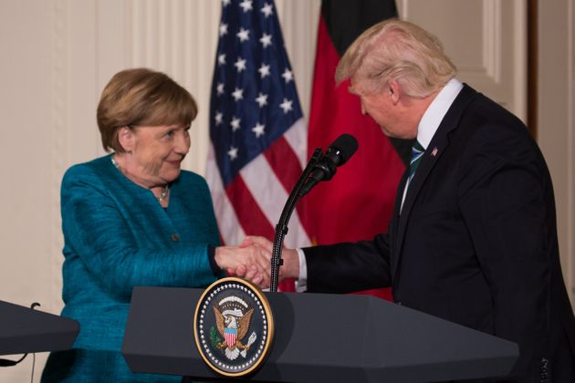 The Times said Angela Merkel persuaded Trump to warm to the idea ofa deal with the