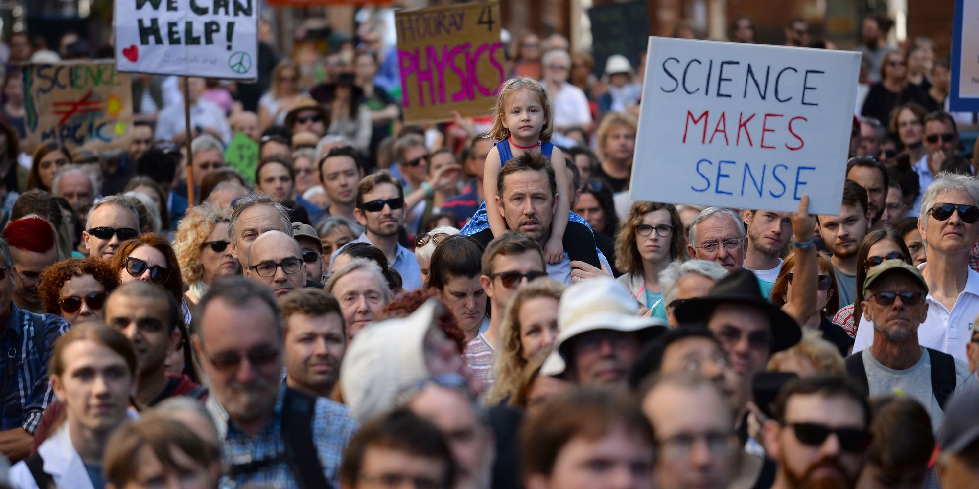 Thousands Across The U.S. And The Globe March For Science In Defiance Of Donald Trump