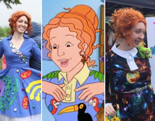 Ms. Frizzle Made The March For Science Protests