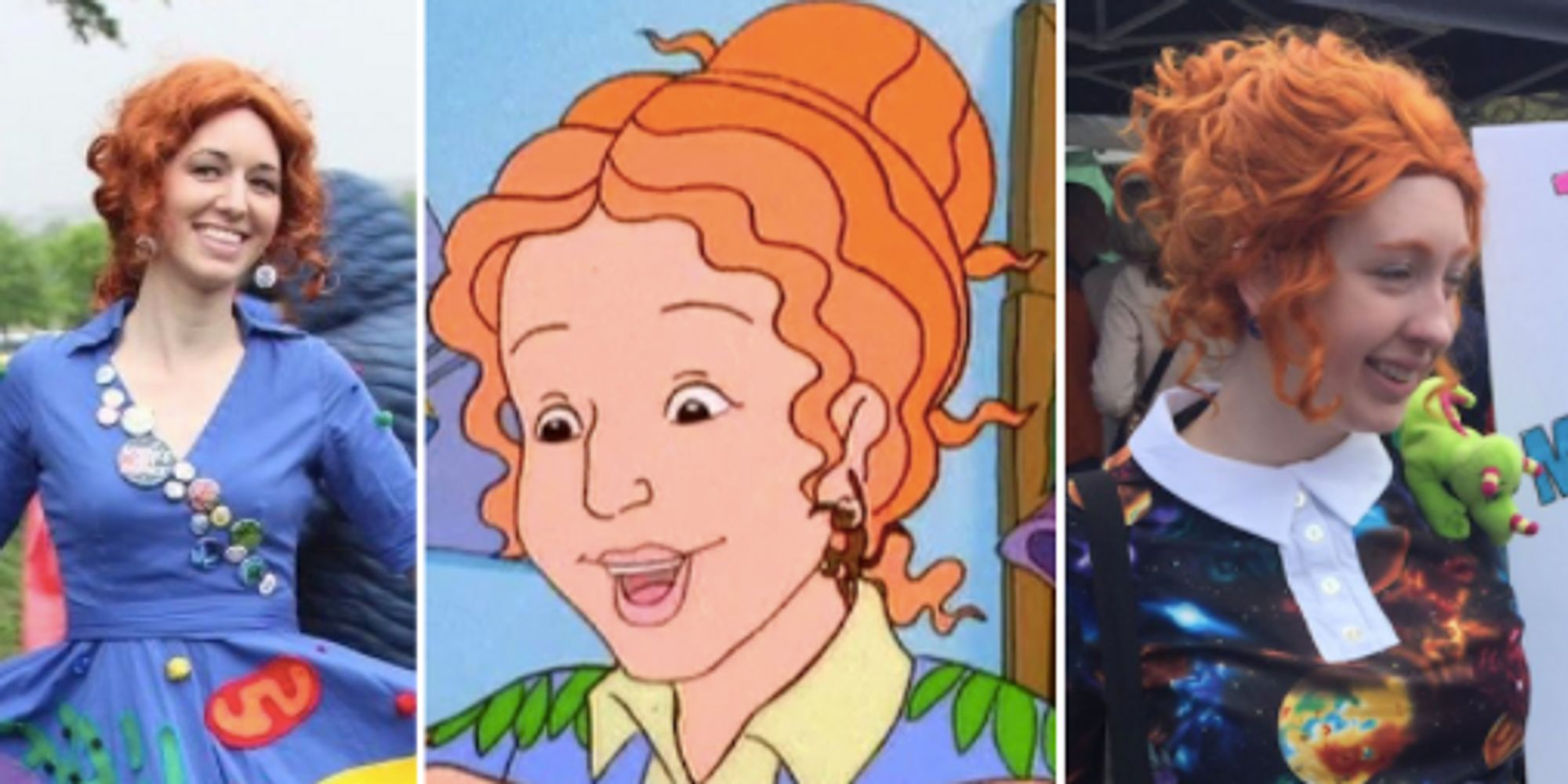 Ms. Frizzle Made The March For Science Protests Magical