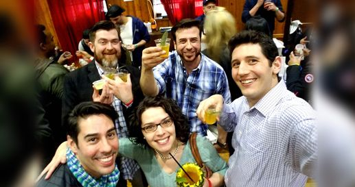 Cocktail enthusiasts and industry professionals attend the NY Cocktail Expo