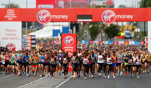 Record numbers of runners are competing in the London