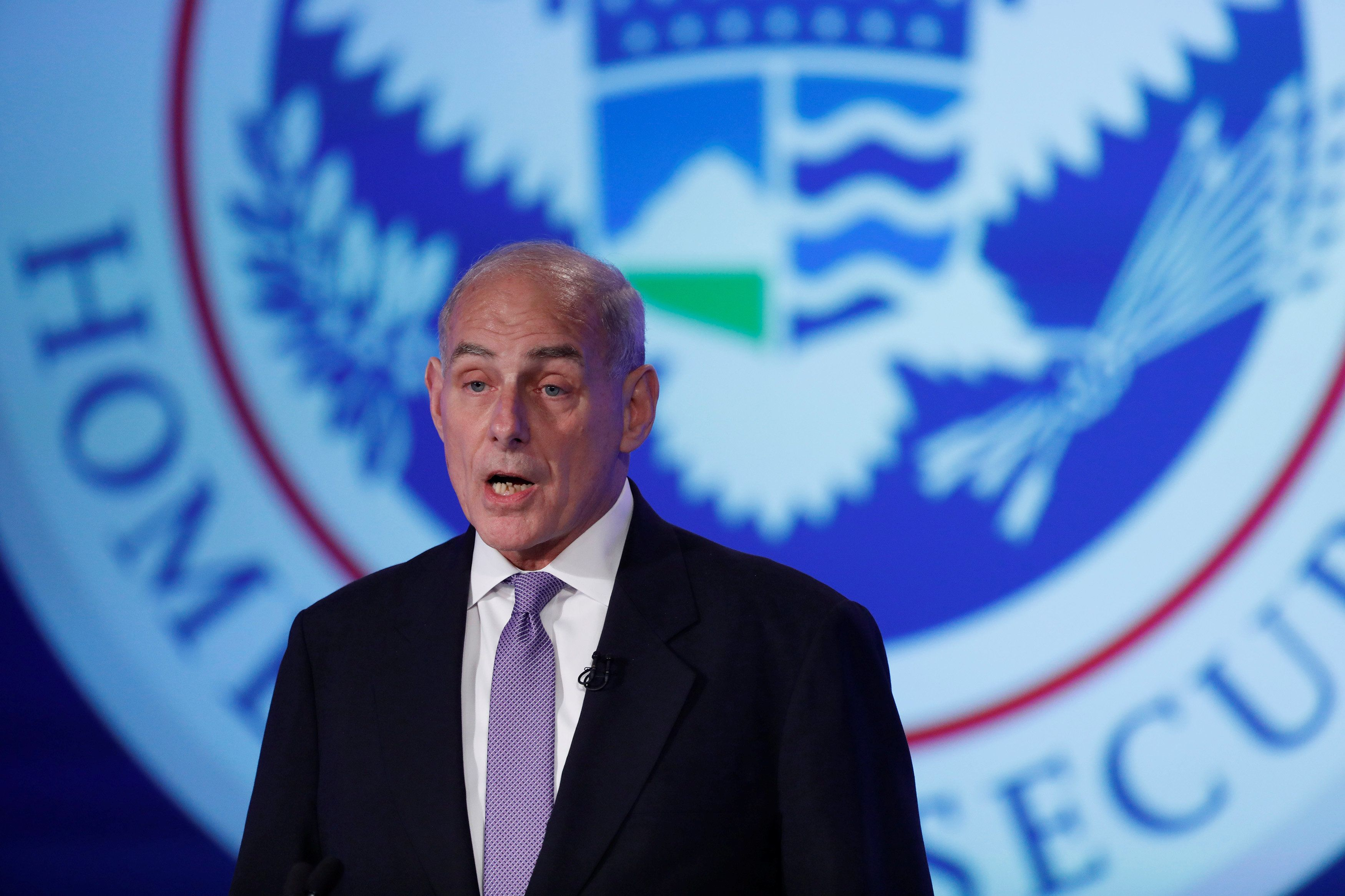 Homeland Security Secretary John Kelly says homegrown terrorist attacks are the most common, but he doesn't...