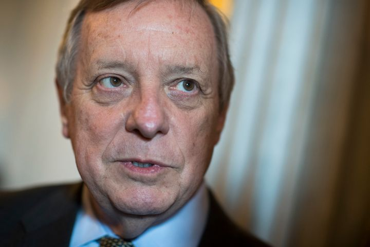 Sen. Dick Durbin (D-Ill.) says it's okay if Democratic officials are personally opposed to abortion rights, as long as t