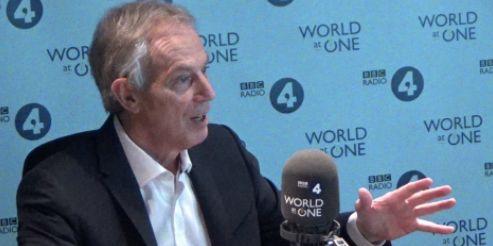 Tony Blair wants to
