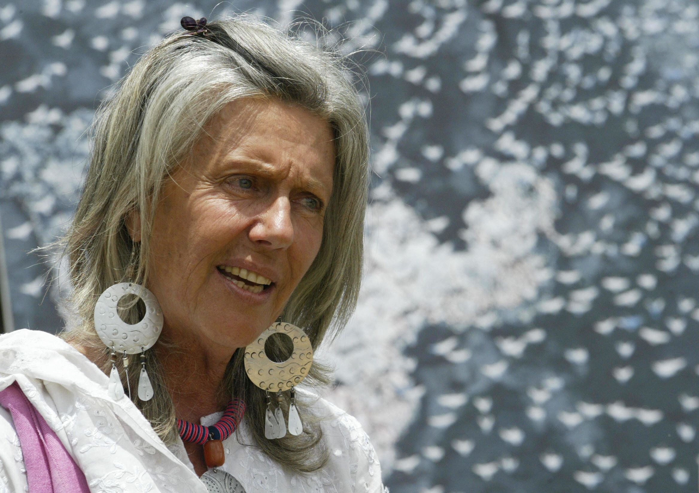 Conservationist Kuki Gallman discusses the need to save migratory birds on April 9, 2006.