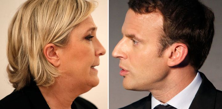 Marine Le Pen and Emmanuel Macron have advanced to the second round in the 2017 French presidential.