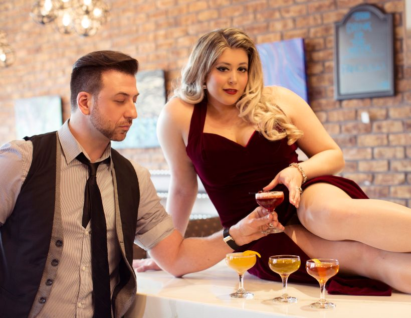 """Official Model of the NY Cocktail Expo, Pin Up <a rel=""""nofollow"""" href=""""https://www.instagram.com/jessie_leigh_x/"""" target=""""_bl"""