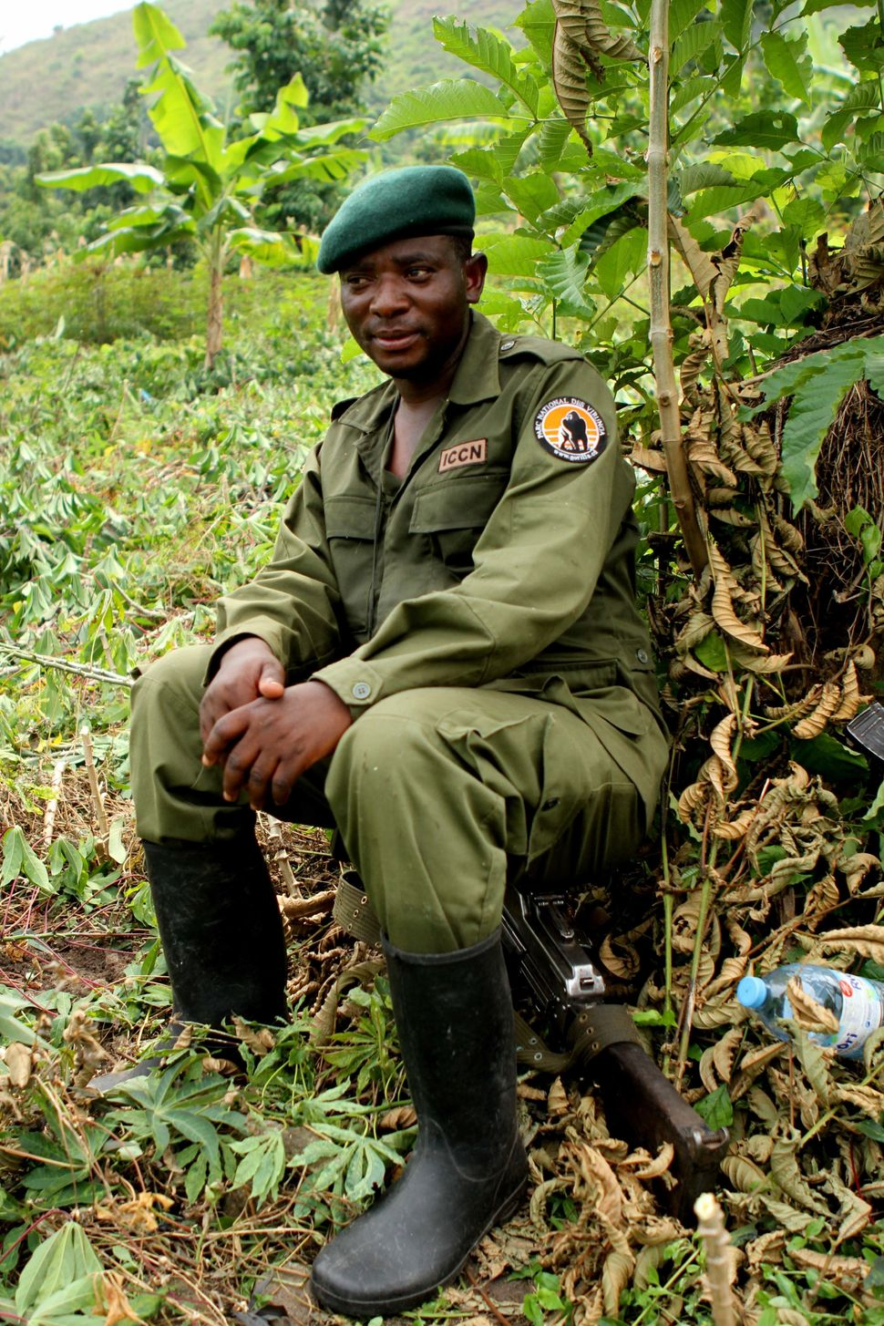 Rodrigue Katembo, a park ranger in the Democratic Republic of Congo, was awarded for his efforts to stop oil exploration in t