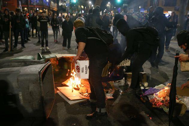 Plans for the alt-right provocateur to speak on campus sparked violent