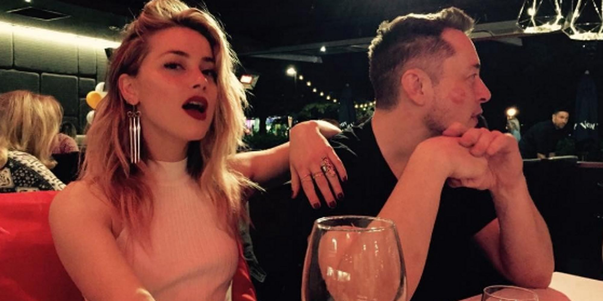 Amber Heard Appears To Confirm Relationship With Tech Visionary Elon Musk