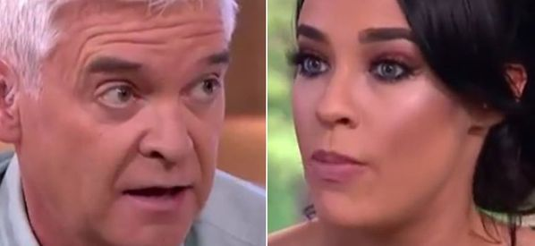 Stephanie Davis And Phillip Schofield Clash Over 'Biased' 'This Morning' Interview