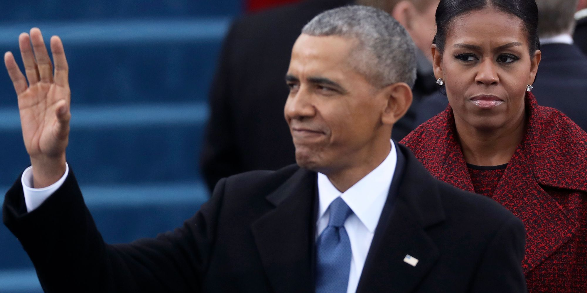 Obama Makes First Major Appearance Since Leaving The White House