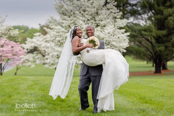 """Charlene and Sunny enjoyed their wedding ceremony and reception at the Bolger Center in Potomac, Maryland with over 300 gues"