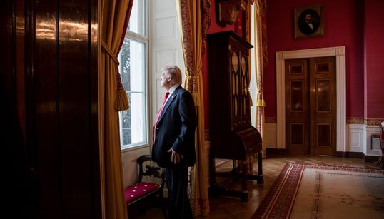 These Are Some Of The Best Photos From President Trump's First 100