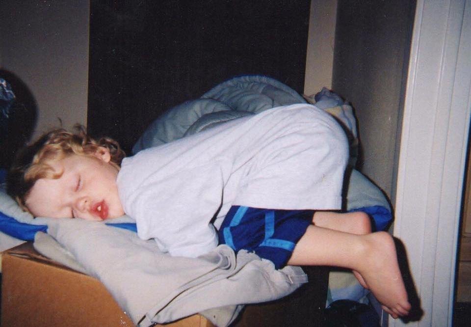 Baby Keeps Jumping When Falling Asleep
