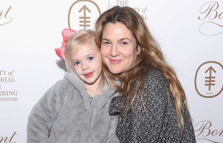 To celebrate her daughter's birthday, Drew Barrymore wrote a sweet post on Instagram.
