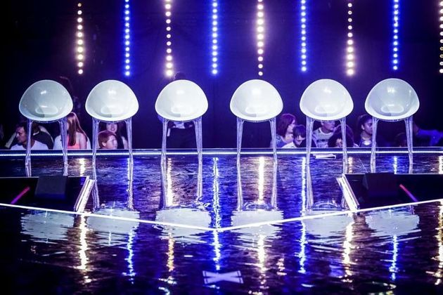 The six chairs that strike fear into any aspiring 'X Factor'