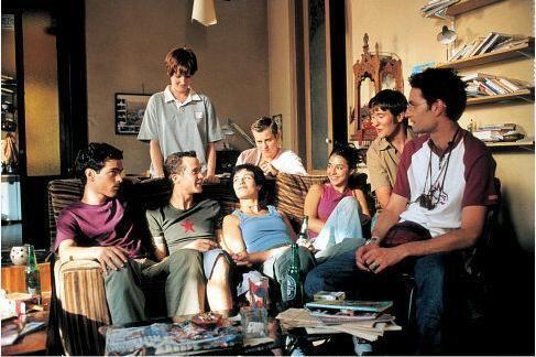 movie scene from L'Auberge Espagnole