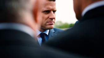 French presidential election candidate for the En Marche ! movement Emmanuel Macron arrives for a ceremony at a monument in memory of mass killings of Armenians by Ottoman forces in 1915, on April 24, 2017 in Paris. / AFP PHOTO / POOL / Lionel BONAVENTURE        (Photo credit should read LIONEL BONAVENTURE/AFP/Getty Images)