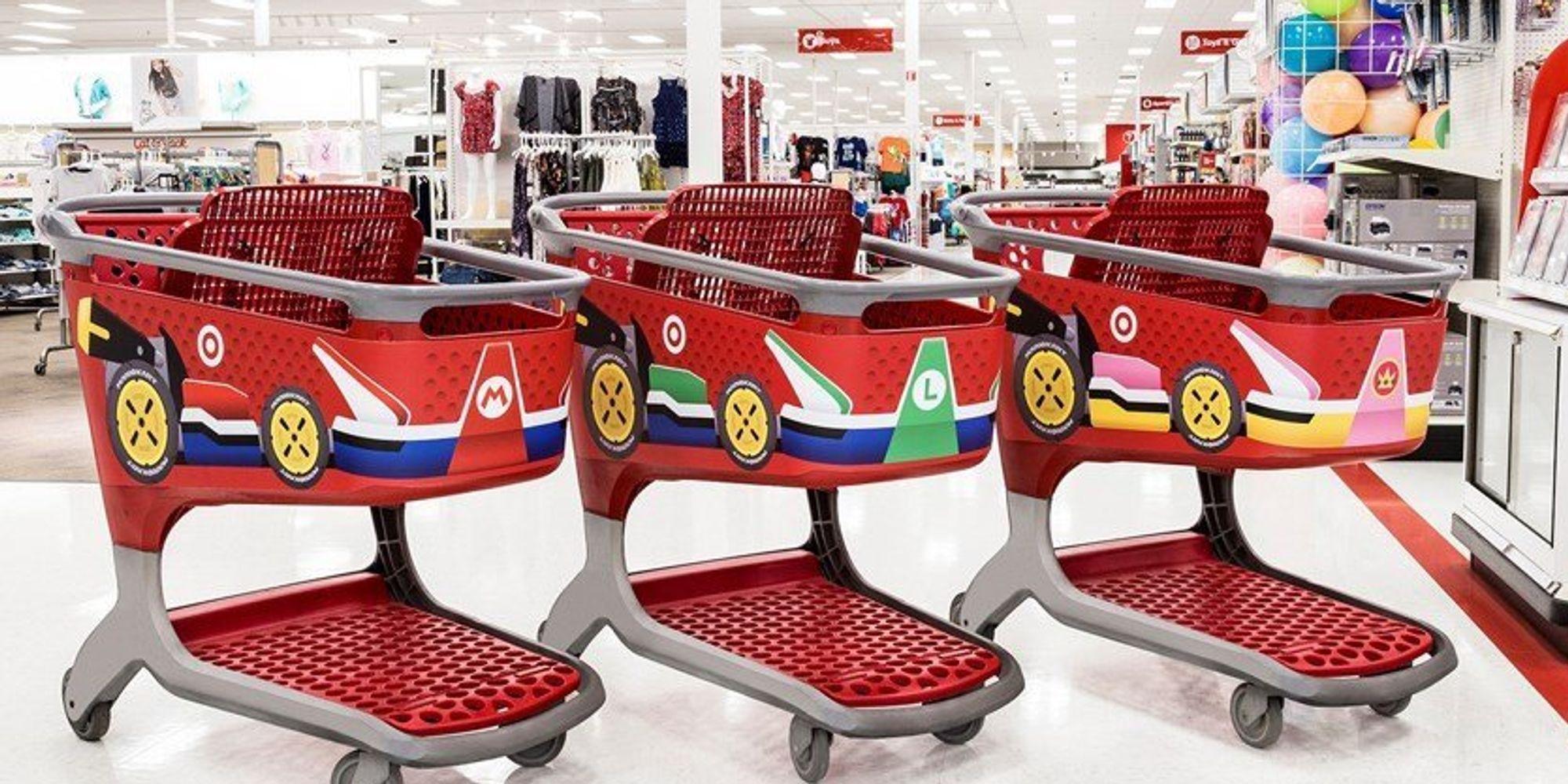 Target Turned its Shopping Carts into 'Mario Karts'