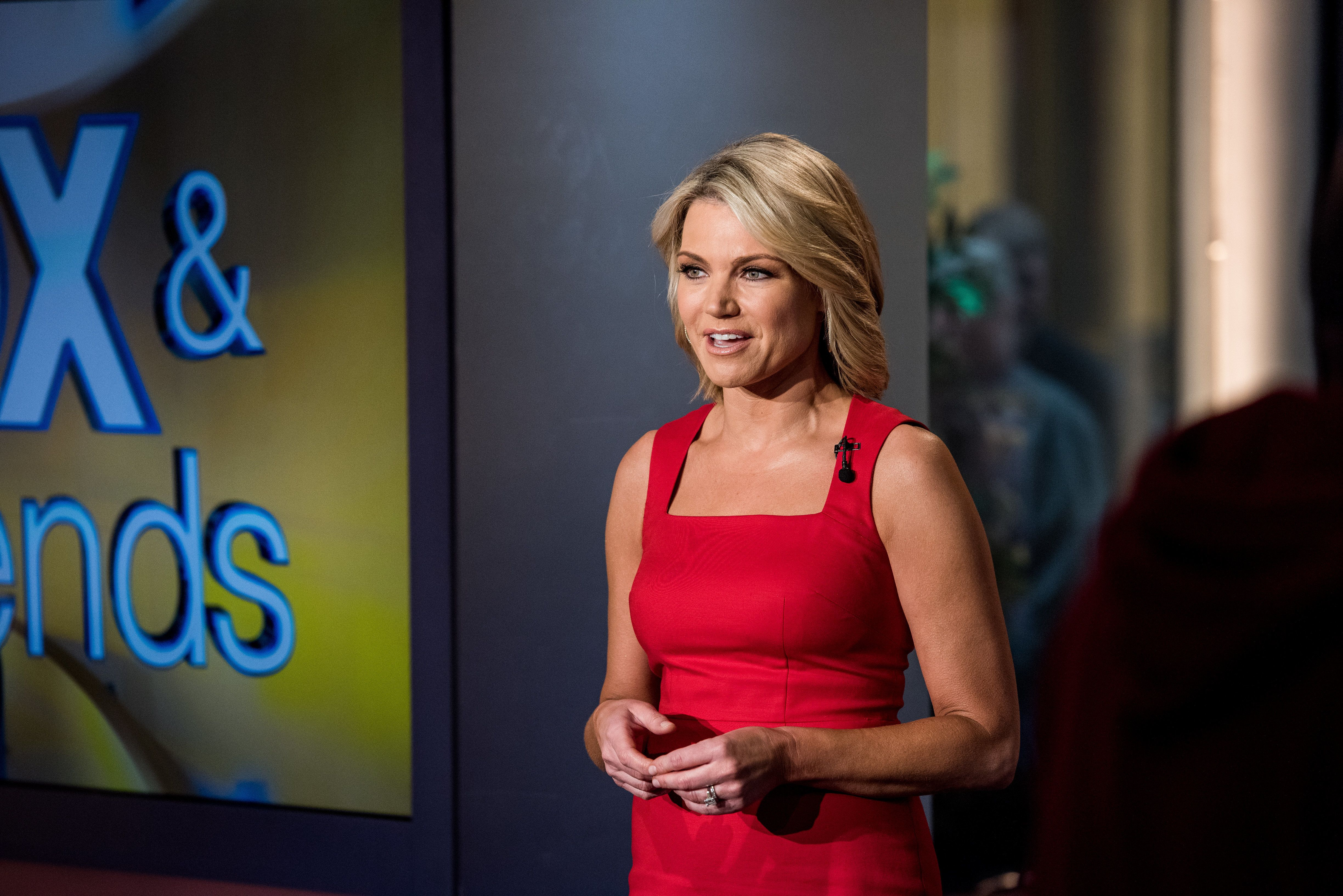 Fox Newscaster Heather Nauert tells the news during 'Fox & Friends' at FOX Studios on May 5, 2016 in New York City. (Phot