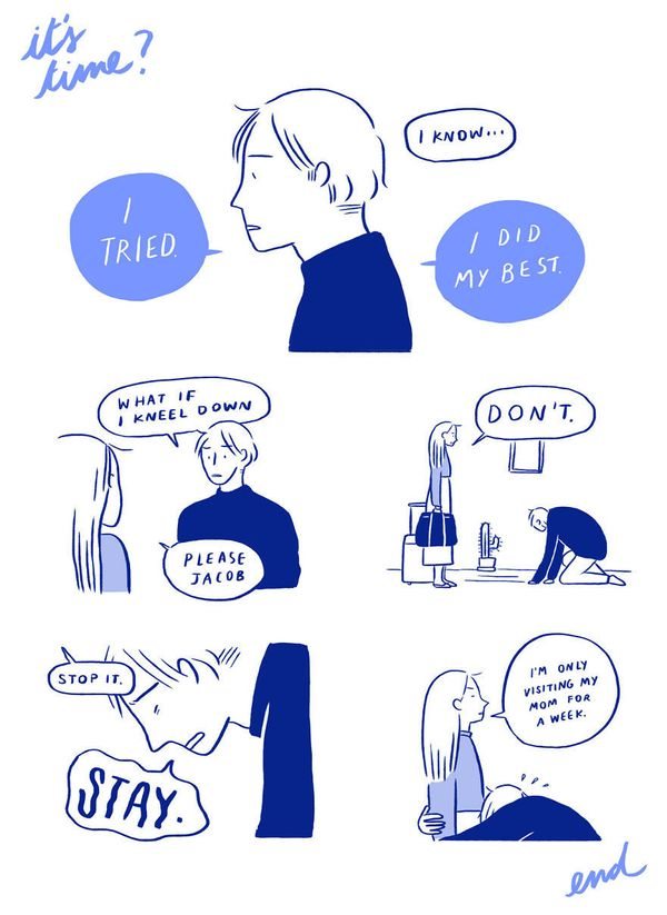 9 Relatable Comics That Capture The Non-Cheesy Side Of Love 58fe3df22600003596c4764d