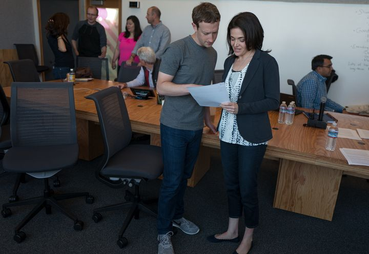 "Sandberg says her boss, Mark Zuckerberg, seemed to intuitively understand how to support her in grief. ""I had no idea how he"