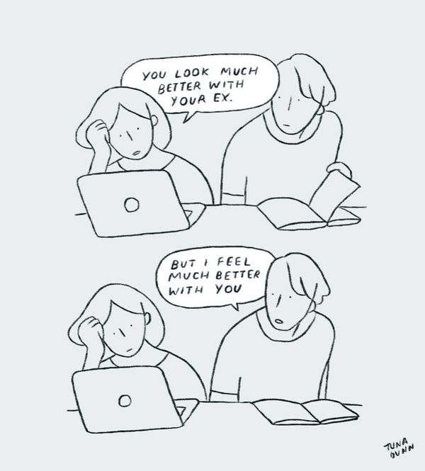 9 Relatable Comics That Capture The Non-Cheesy Side Of Love 58fe48ab2600004500c476c4