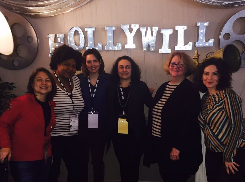 NYWIFT at the Summit, from left: S. Casper Wong, Destiny Lilly, Kathryn O'Kane, Alexis Alexanian, Terry Lawler, Simone Pero