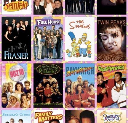 You Can Now Download And Use The Fonts Of Your Favorite '90s TV