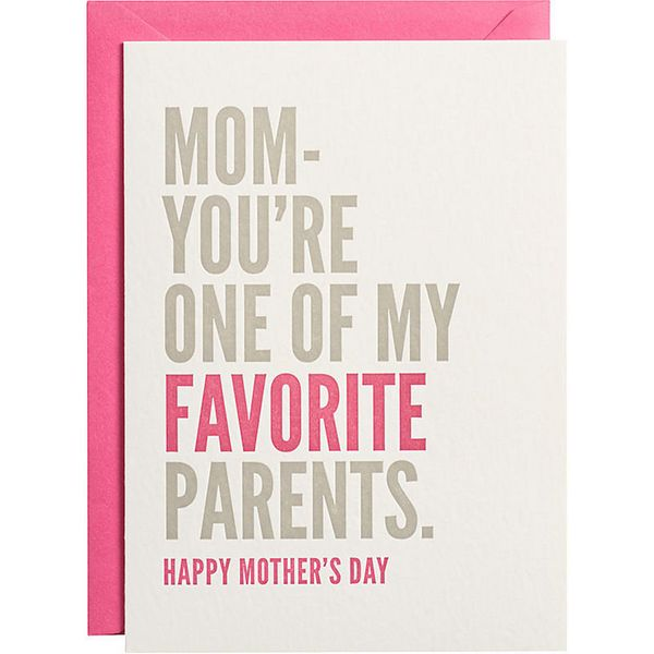 """<i>Buy it from <a href=""""http://www.papersource.com/item/Favorite-Parent-Mothers-Day-Card/3901_002/3929991266.html"""" target=""""_b"""