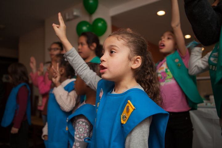 Girl Scouts Troop 6000 is a source of sisterhood for girls who are homeless.