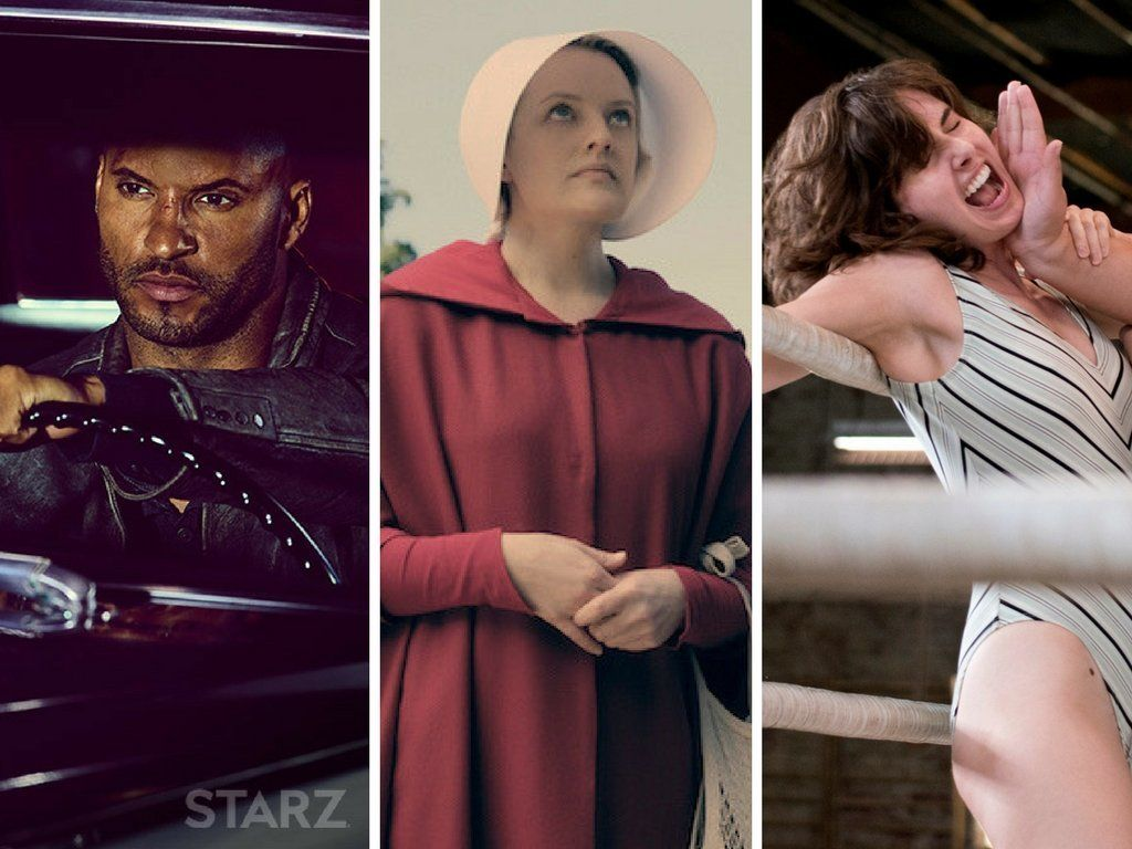 """American Gods,"" ""The Handmaid's Tale"" and ""GLOW."""