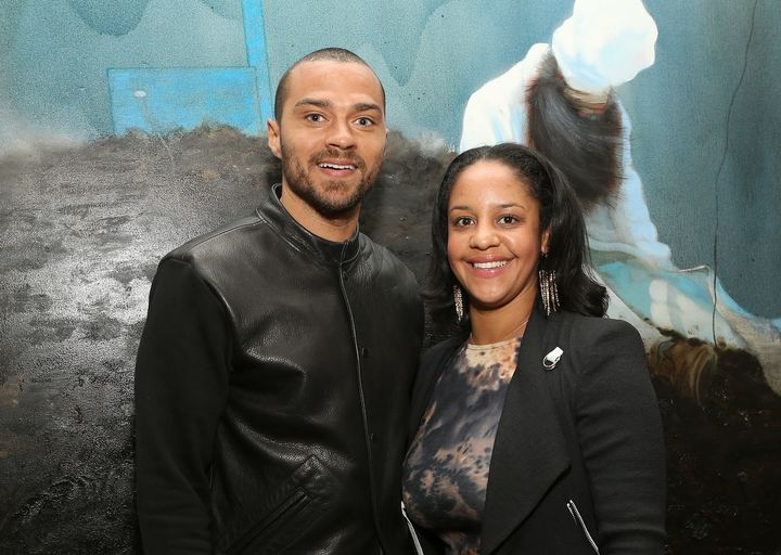 Jesse Williams and Aryn Drake-Lee in 2013.