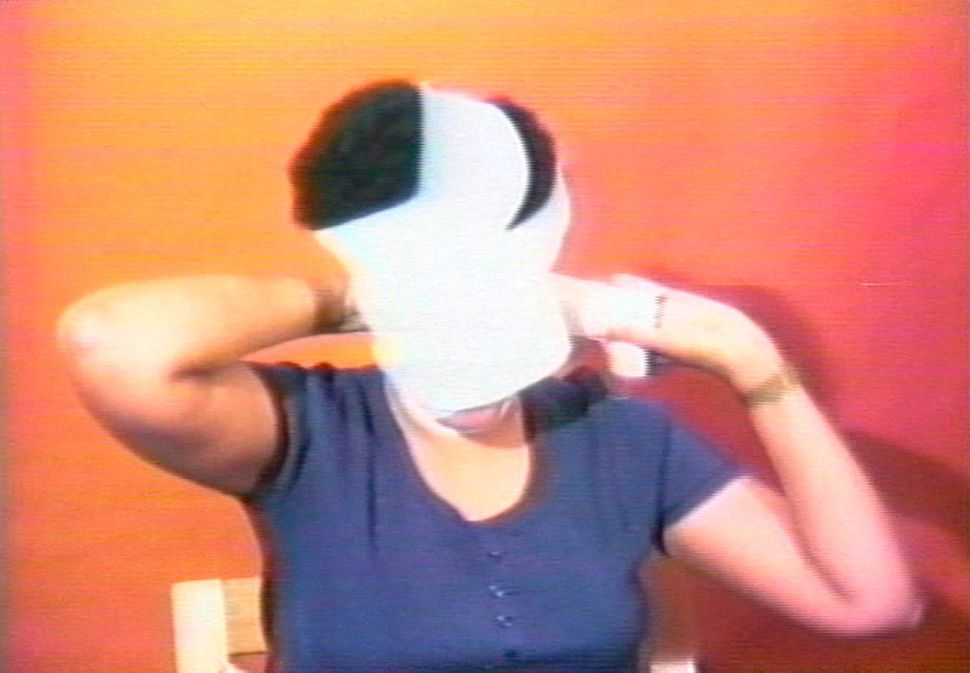"Howardena Pindell (American, born 1930), ""Still from Free, White and 21,"" 1980, video, 12 minutes and 15 seconds."