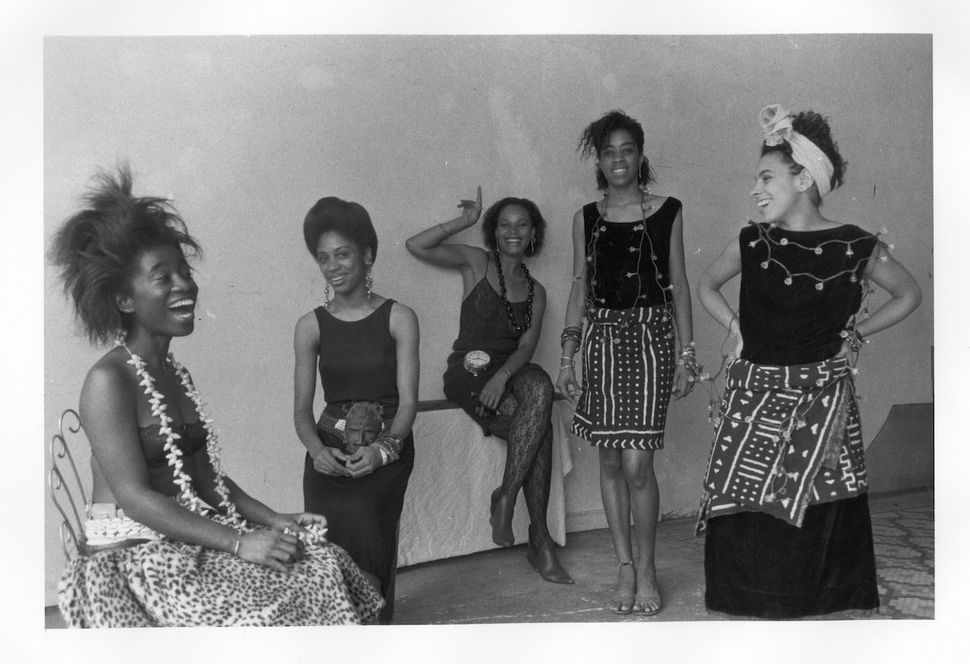 "Lorna Simpson (American, born 1960), ""Rodeo Caldonia"" (Left to Right: Alva Rogers, Sandye Wilson, Candace Hamilton, Derin You"
