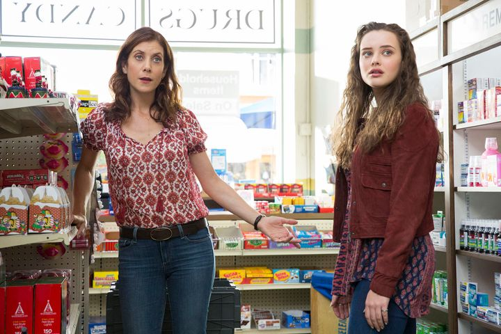 "Kate Walsh and Katherine Langford on ""13 Reasons Why."""