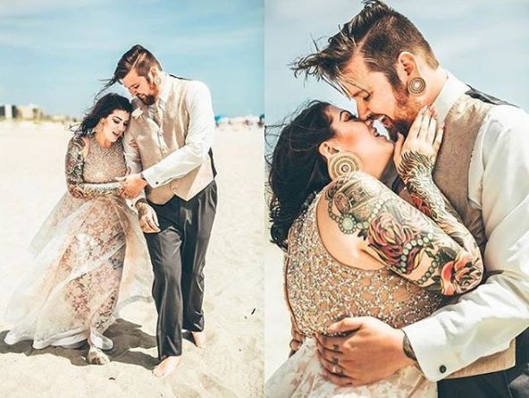 """""""Photographed the most beautiful and intimate elopement!"""" --<i>Lauren Rita</i>"""