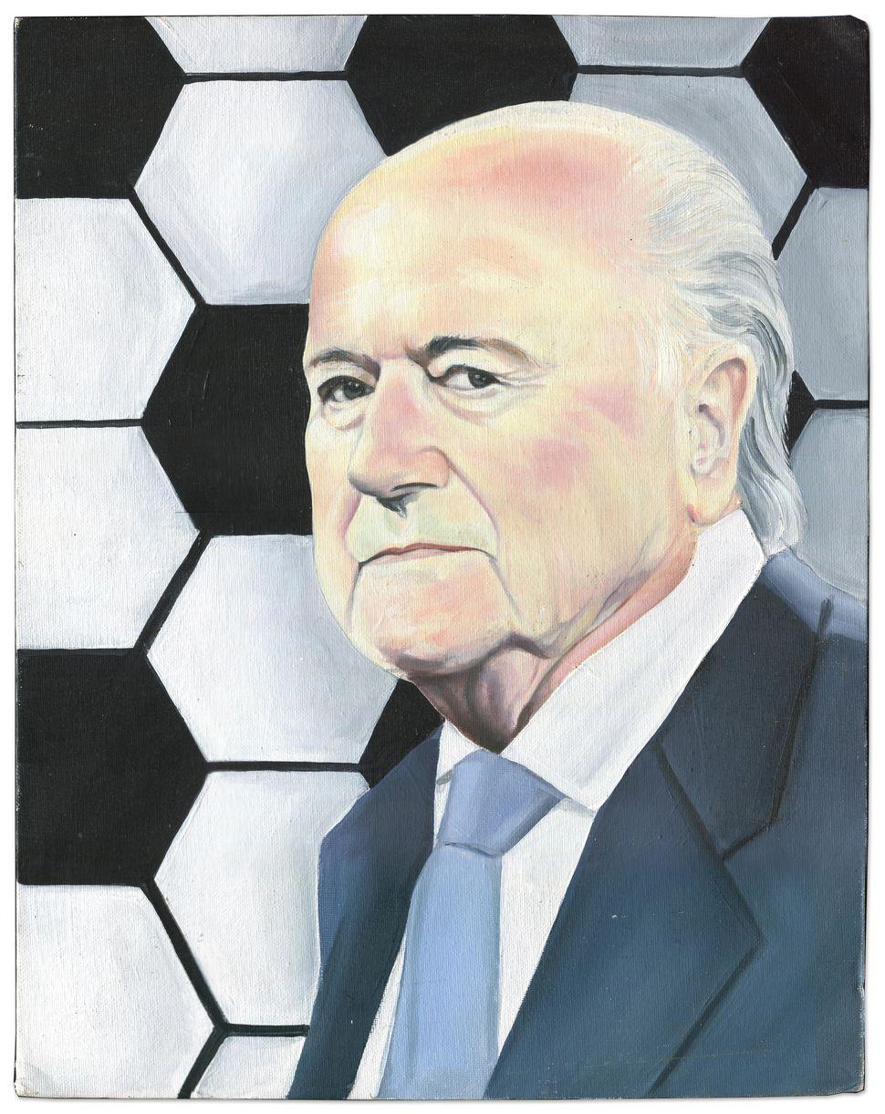Lewis Walters(Prison ID #38699-007) drew former president of FIFASeppBlatter. Blatter is accused of conspir