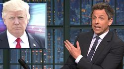 Seth Meyers Delivers Ruthless Verdict For 'Ignorant' Trump's First 100