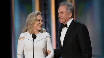 THE OSCARS(r) - The 89th Oscars(r)  broadcasts live on Oscar(r) SUNDAY, FEBRUARY 26, 2017, on the ABC Television Network. (Eddy Chen/ABC via Getty Images) FAYE DUNAWAY, WARREN BEATTY