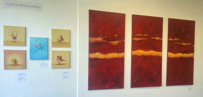 Paintings by Yuko Miyahara